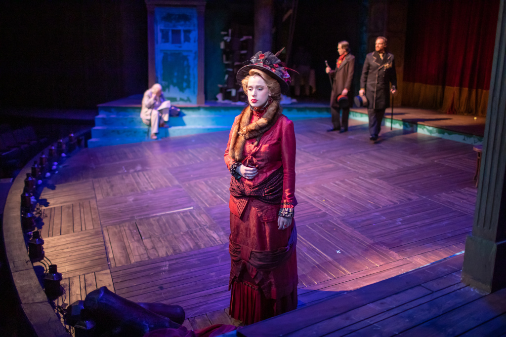 Kate Jones plays Alonsa in BJU's 2020 production of The Tempest (Photo by Hal Cook)