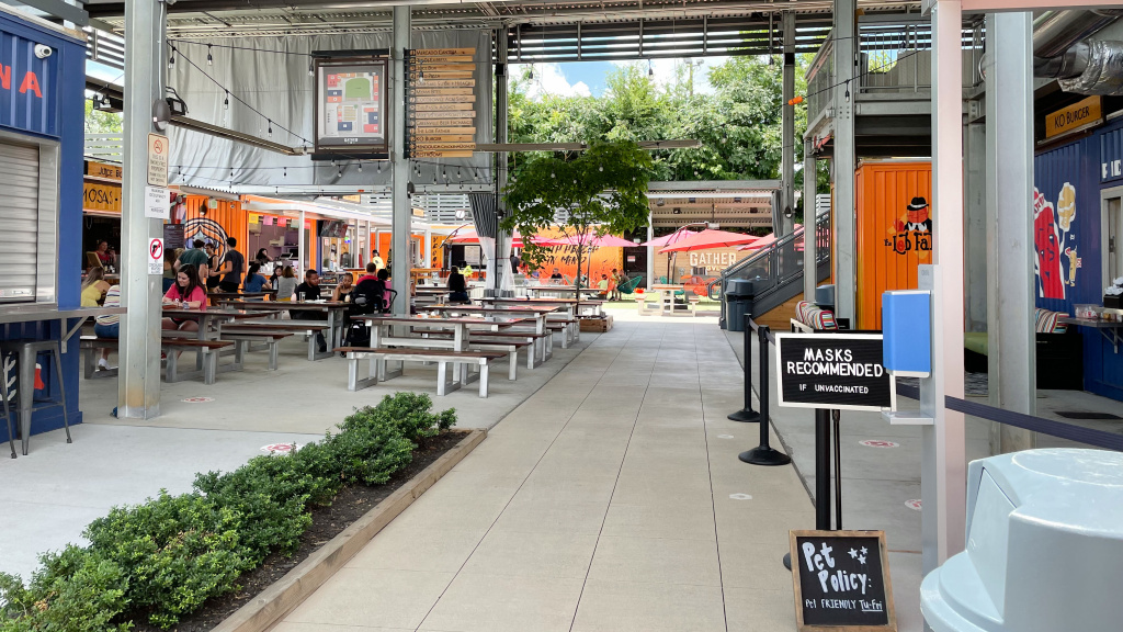 Gather GVL, a food hall in downtown Greenville